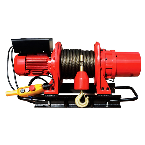 Лебедка электрическая  KDJ-750E1 ; в/п 100 м