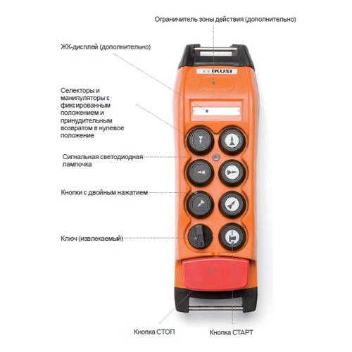 Радиоуправление IKUSI ТМ70/1.13 СТАНДАРТ