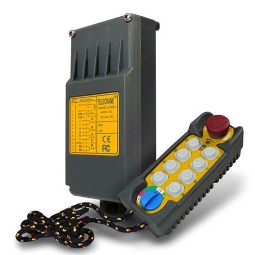 Радиоуправление Telecrane F21-Е2 (8 кнопочное 1 скоростное)
