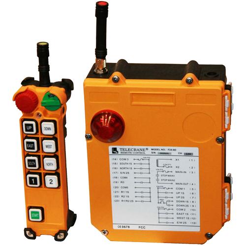 Радиоуправление Telecrane F25-8D (8 кнопочное 2 скоростное)