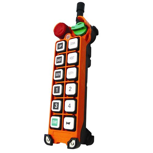 Радиоуправление Telecrane F25-10D (10 кнопочное 2 скоростное)